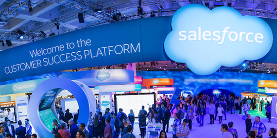 salesforce partners with apple  u0026 other dreamforce moves
