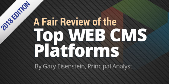 A Fair Review of the Top Web CMS Platforms - 2018 Edition