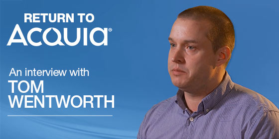 Tom Wentworth Returns to Acquia as New SVP of Product Marketing