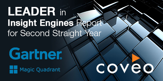 Mark Floisand on Coveo's Position in Gartner MQ for Insight Engines