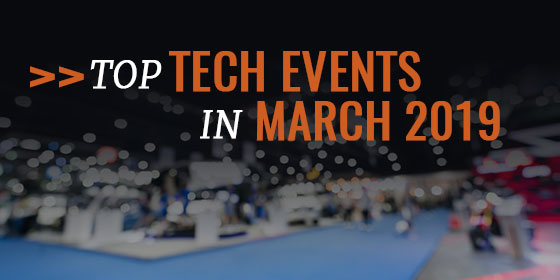 Top-5 Events You Should Attend in March