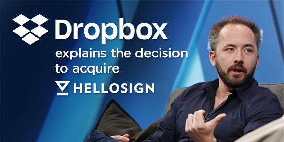 Dropbox Ups Paperless Trend and Acquires HelloSign