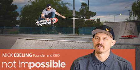 Mick Ebeling, Founder and CEO Not Impossible Labs