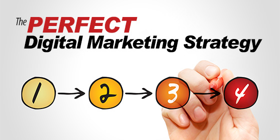 4 Steps To Create The Perfect Digital Marketing Strategy