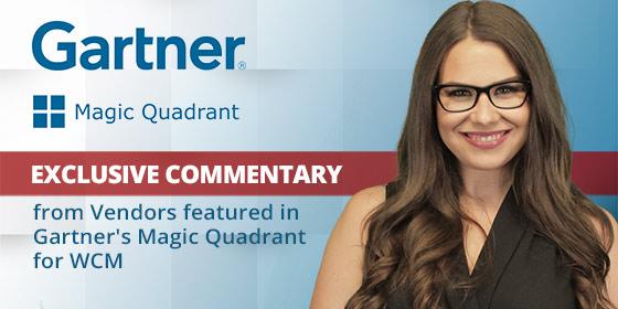 Vendor Insights On Gartner Magic Quadrant For Wcm 2018 Cms Connected